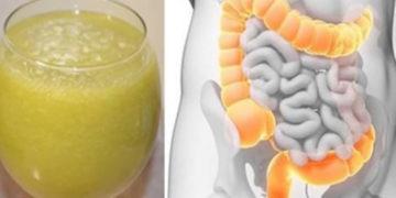 Frullato che purifica il colon, elimina le tossine e sgonfia