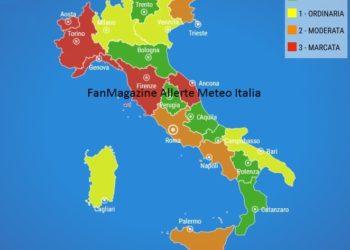 FanMagazine Allerta Meteo Italia