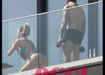 fanmagazine diletta leotta si allena sul balcone