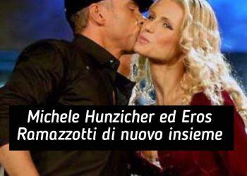 Michelle Hunziker ed Eros Ramazzotti