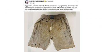 Papà del bimbo pubblica i pantaloncini, Giole